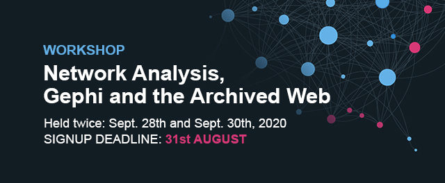 Network Analysis, Gephi and the Archived Web